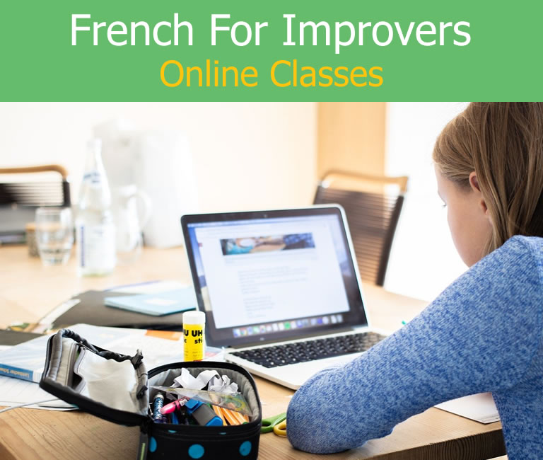 Online French Classes for Improvers